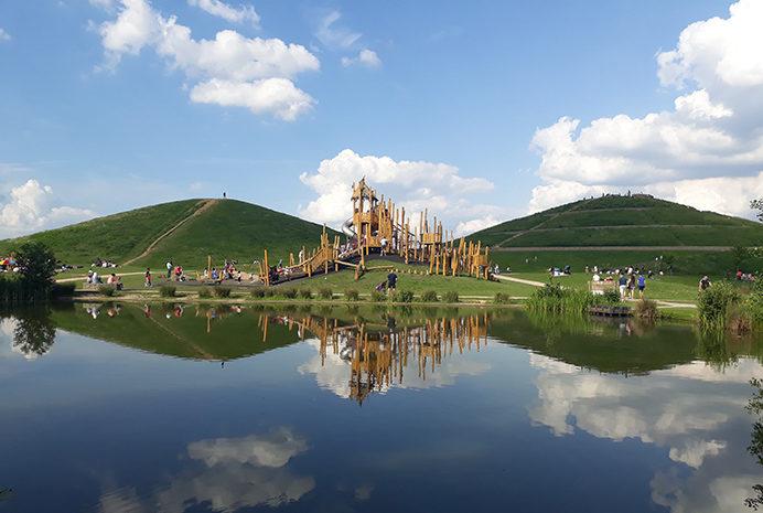 5 Malgorzata Sikora - Northala Fields lakes, mounds and play area