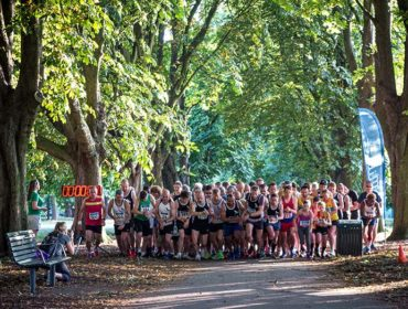 G- The summer series of the Ealing Mile at Lammas Park, by Roger Green
