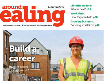 Around Ealing Autumn 2019 front cover