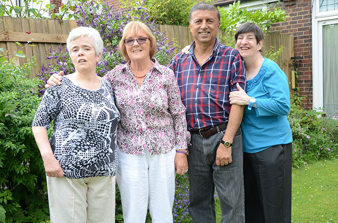 Ealing Shared Lives: Christine and Joe Lyons cared for Jane and Elspeth for two decades