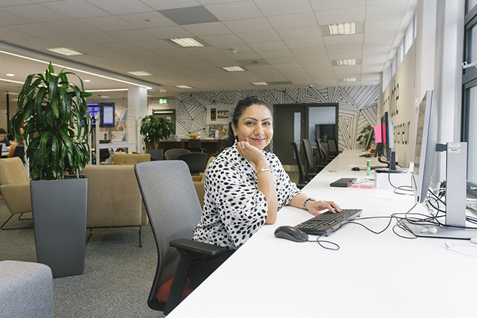 Sukhi working at Westmont Enterprise Hub