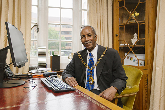 Mayor of Ealing 2019-20 Councillor Abdullah Gulaid