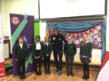 Black History Month: Visit by footballer to school