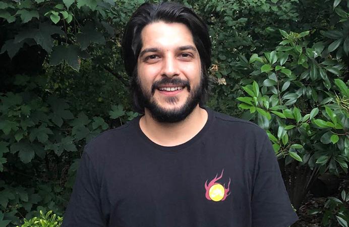 Befriending: Dominic Agha-Rafei volunteers for BEfriend