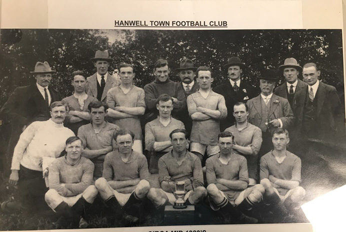Hanwell Town Middle Jr Charity Cup Winners 1926