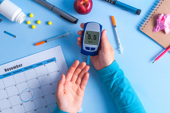 World Diabetes Day is on 14 November each year