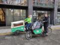 Cargo bikes are available to borrow