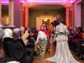 Youth fashion show at Gunnersbury Park Museum. Photograph by Jayne Lloyd
