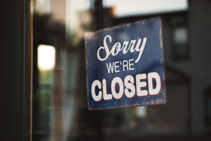 Non-essential businesses must close