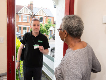 Healthy Homes Ealing - visit from a green doctor