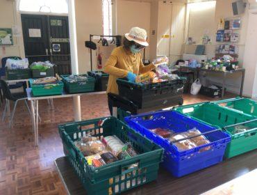 Charity of William Hobbayne volunteer during coronavirus emergency