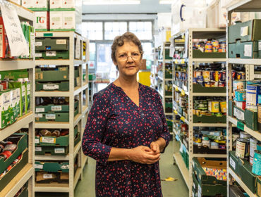 Janet Fletcher, Manager, Ealing Foodbank, St Mellitus Church Hall, Hanwell