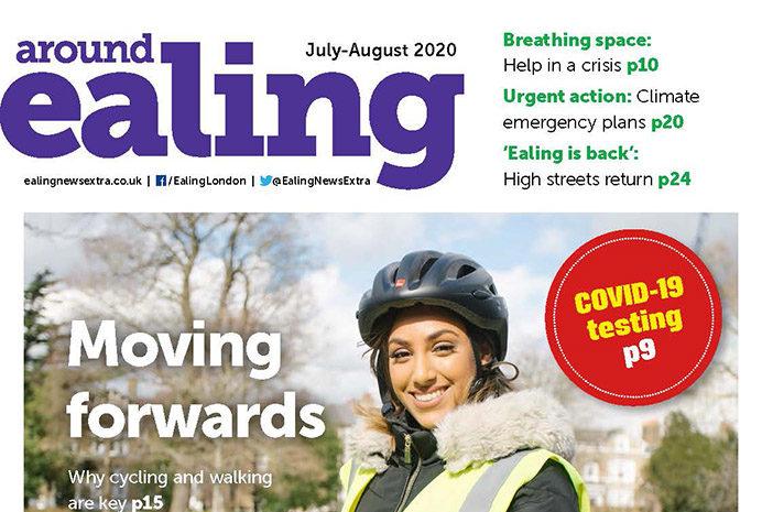 Around Ealing magazine July-August 2020