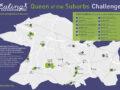 Ealing Half Marathon 2020 virtual challenges - the map of parks