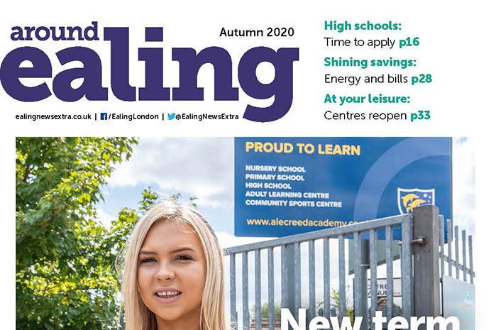 Around Ealing magazine autumn 2020