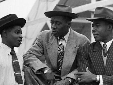 Jamaican men in London 1950s