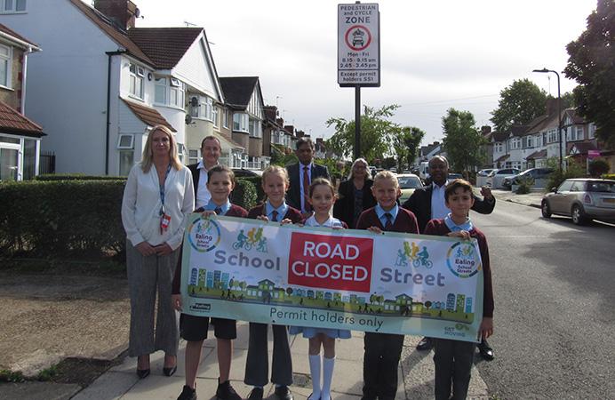 School Streets opening