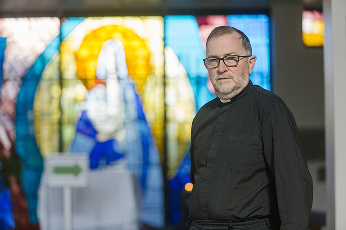 Father Gerard Mitchell of Help for Southall Street Homeless