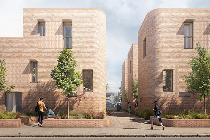 Artist's impression of Norwood Road homes