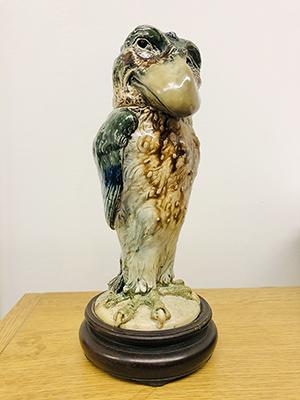 The stolen Wally Bird - Martinware pottery