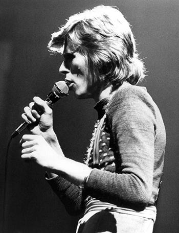 David Bowie in 1974