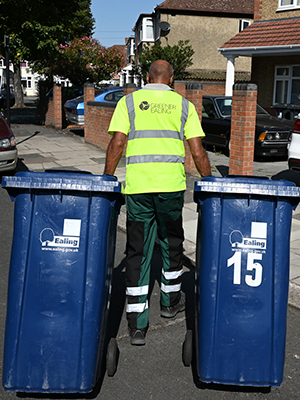 Bin collections by Greener Ealing