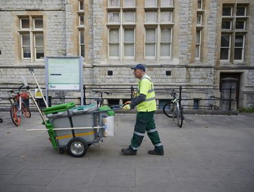 Greener Ealing street cleaning