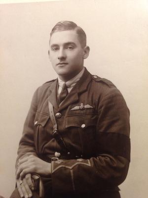 Lt Harold Auerbach in uniform