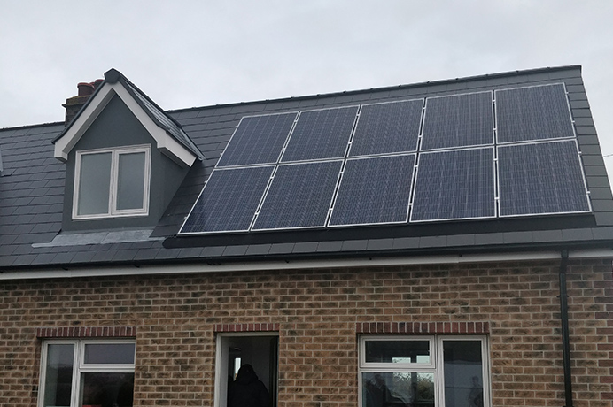 Nottingham Energiespring project - solar roof