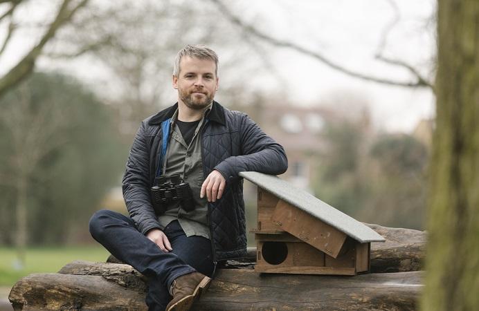 Ealing Wildlife Group founder Sean McCormack