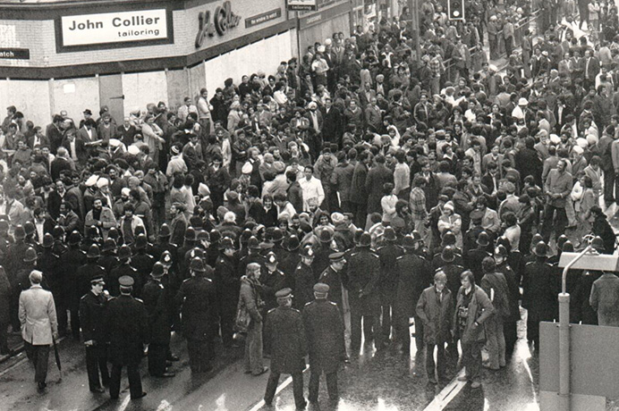 The peaceful prelude to the Southall riot of 23 April 1979