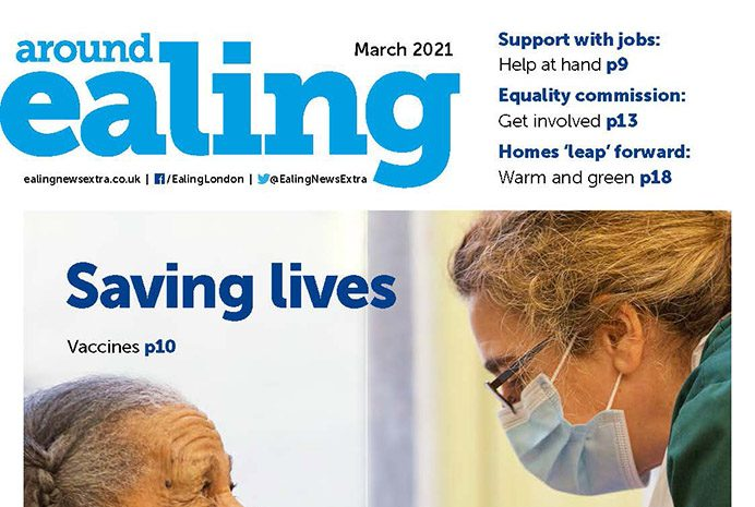 Around Ealing magazine March 2021