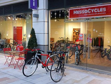 MessaCycles shopfront