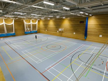 Gunnersbury Sports Hub - new sports hall