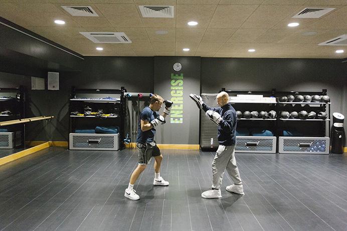 Gunnersbury Sports Hub - boxing fitness in new sports hall