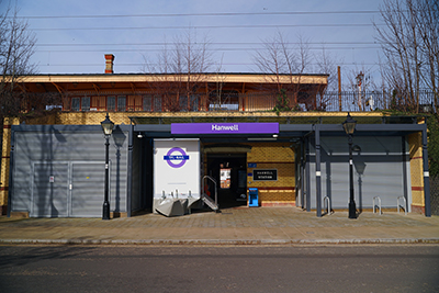 Hanwell Station Exterior - Station Approach