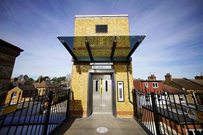 New lift at Hanwell Station
