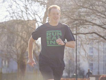 Ealing's running mayor Tom Kerry, of Ealing Half Marathon CIC