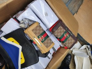 Imitation designer bags seized in Southall