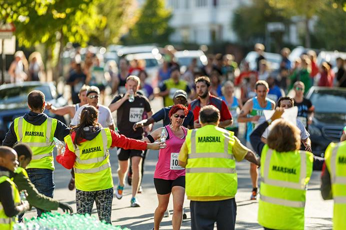 Ealing Half Marathon marshals