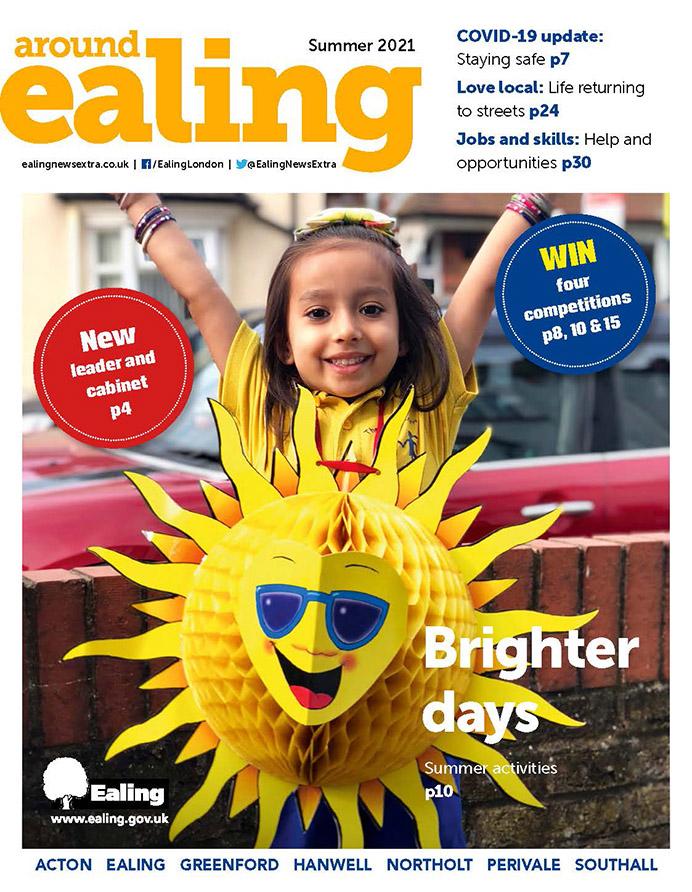 Around Ealing magazine Summer 2021