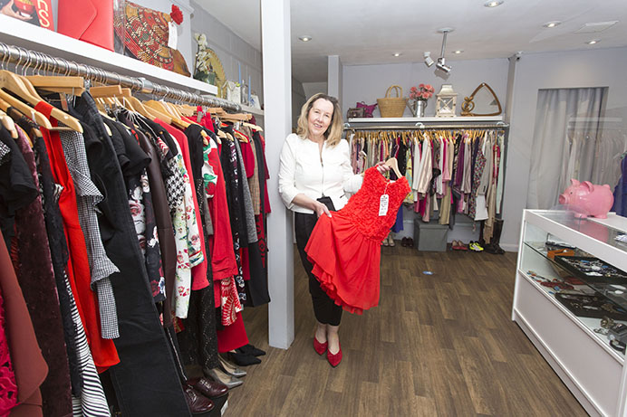 Patsy Richardson, the CAPE shop's non-executive director, happy to reopen the site in Acton