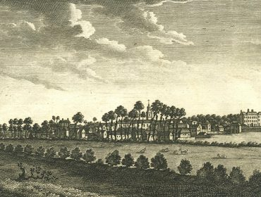 View from Mill Hill towards Acton - 1794